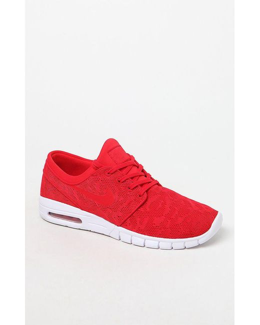 faa03cff1b Nike Stefan Janoski Max Red Shoes in Red for Men - Lyst