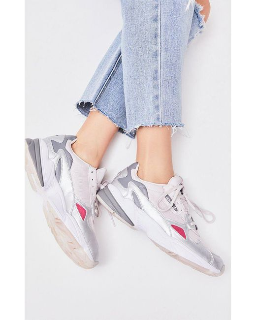 official photos c6412 2ec9d Adidas - Women s Pink Falcon Sneakers ...