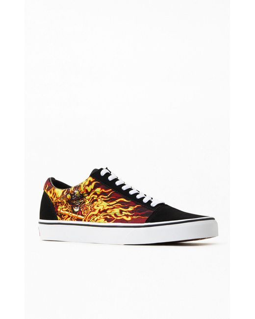 Vans Black Samurai Rising Old Skool Shoes for men