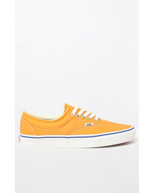 1e1d6f45ebd8dc ... Vans - Orange Foam Era Shoes for Men - Lyst ...