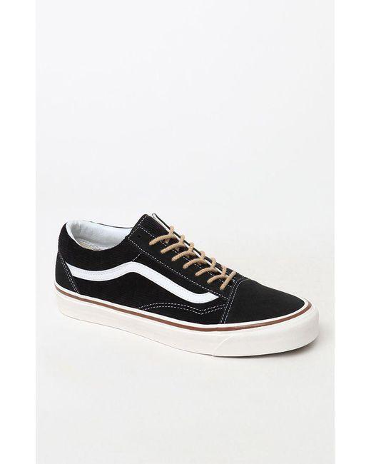 72dccd0538 Lyst - Vans Anaheim Factory Old Skool 36 Dx Black Shoes in Black for Men