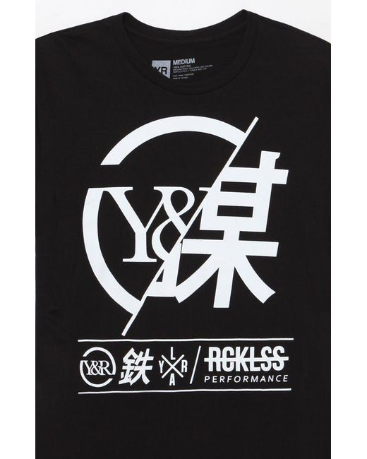 Young Reckless Black Foreign Exchange T Shirt For Men Lyst