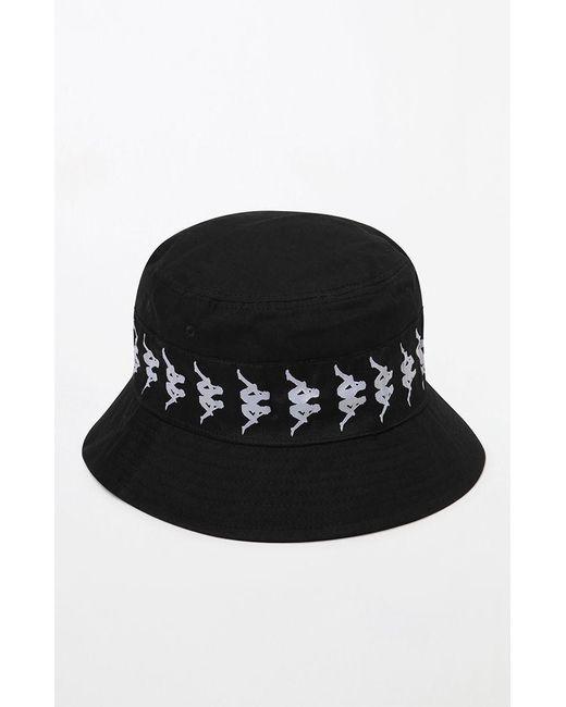 0937a918cff11 ... Kappa - Black Bucket Hat for Men - Lyst