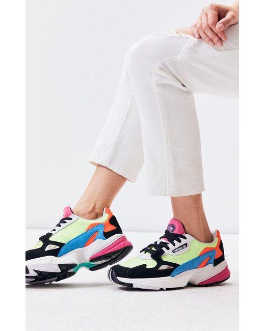 adidas Suede Women's Multi Falcon Sneakers Lyst