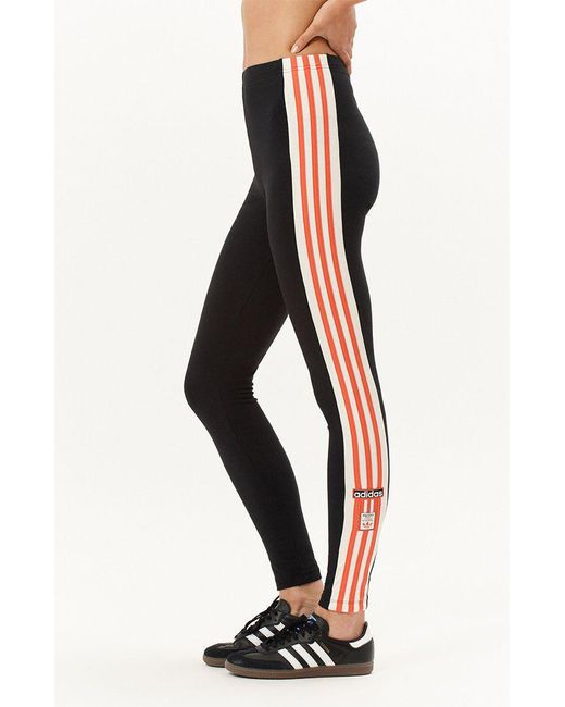 new high on feet at really cheap Lyst - Adidas Adibreak Leggings in Black