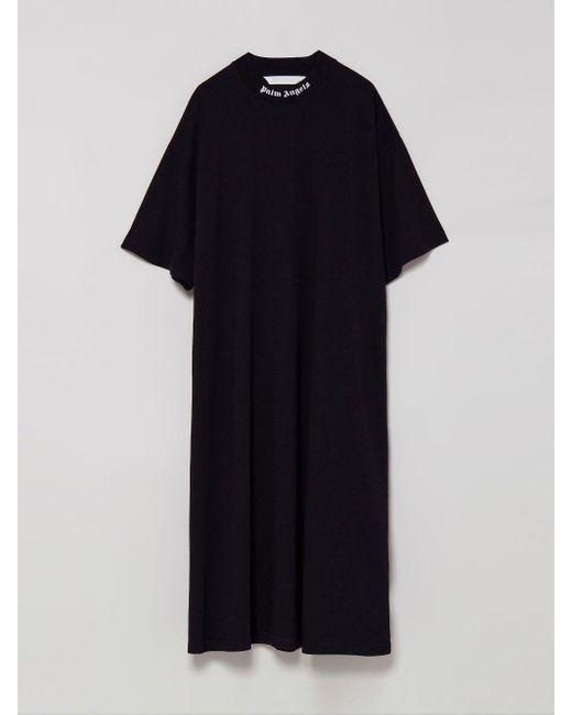 Palm Angels ロゴ Tシャツドレス Black