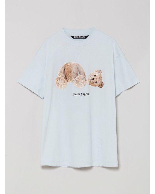 メンズ Palm Angels テディベア Tシャツ White