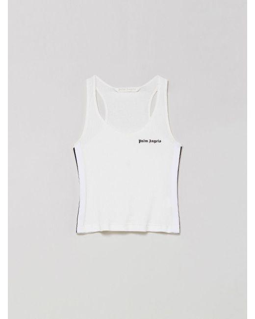 Palm Angels ロゴ タンクトップ White