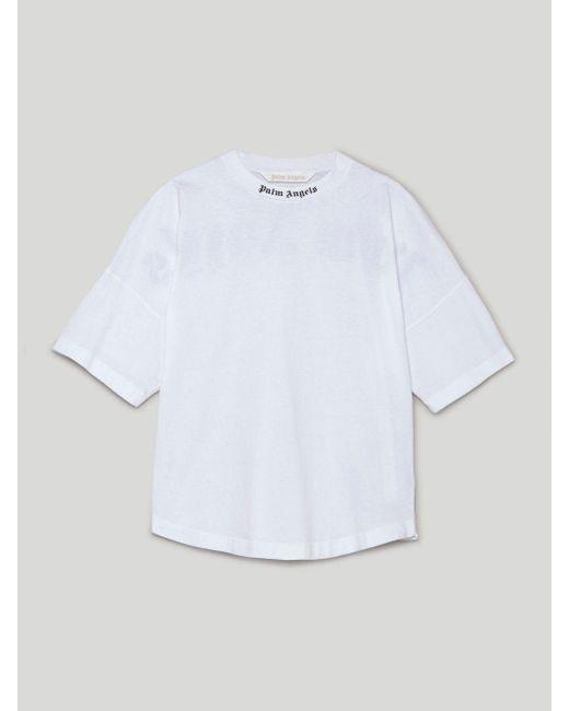 Palm Angels ロゴ Tシャツ White