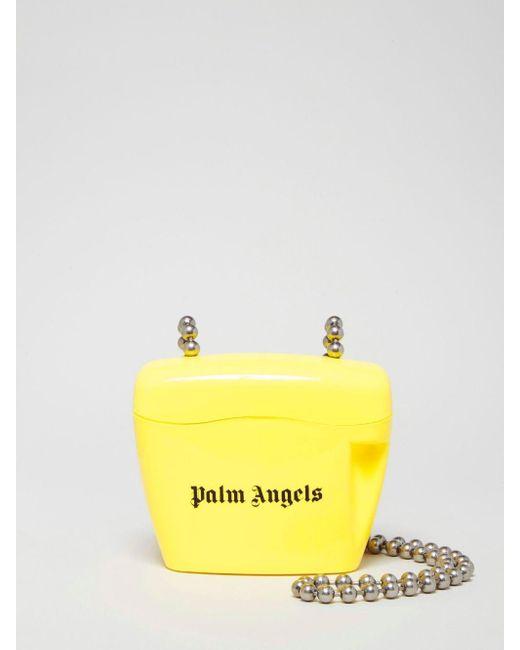 Palm Angels パドロック バッグ ミニ Yellow