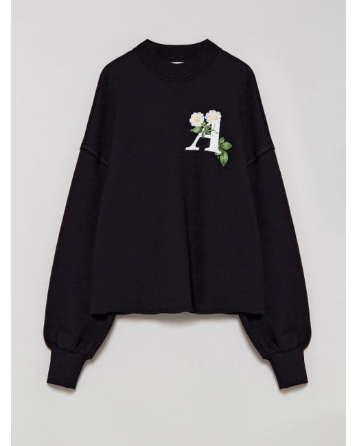 Palm Angels ロゴ スウェットシャツ Black