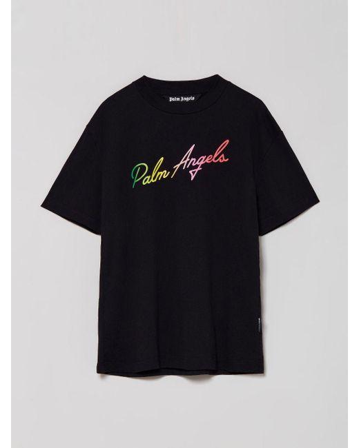 メンズ Palm Angels Miami Tシャツ Black