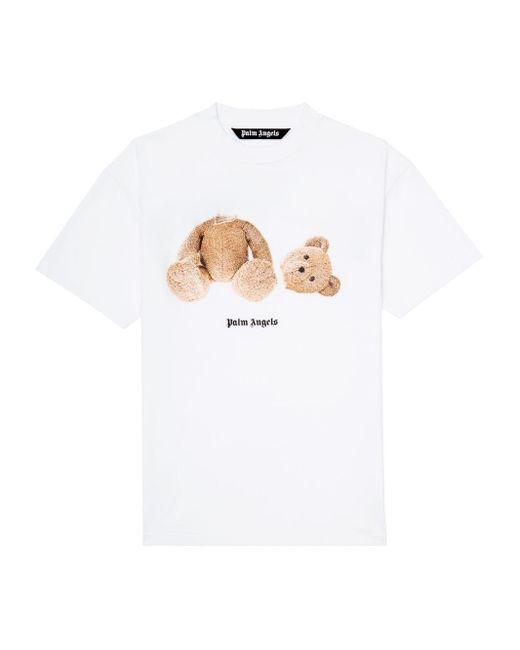 メンズ Palm Angels Bear Tシャツ White