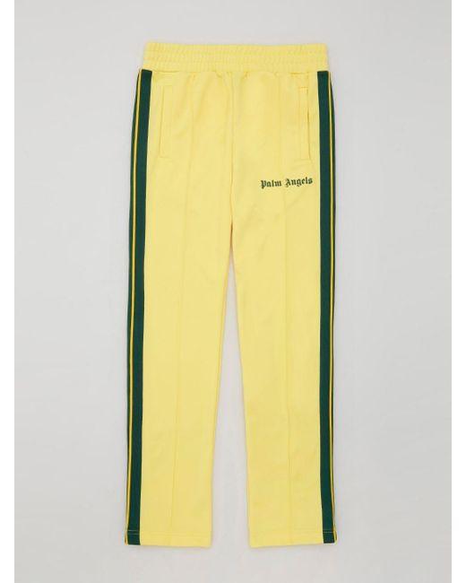 メンズ Palm Angels トラックパンツ Yellow