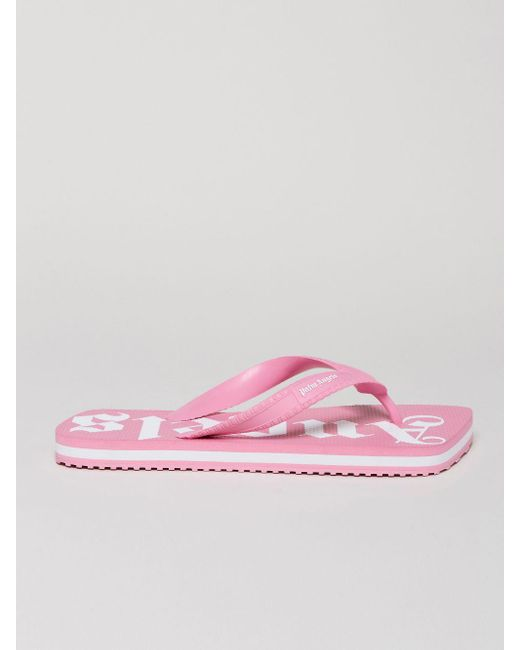 Palm Angels ロゴ サンダル Pink