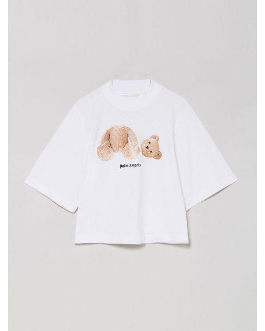 Palm Angels Bear Tシャツ White