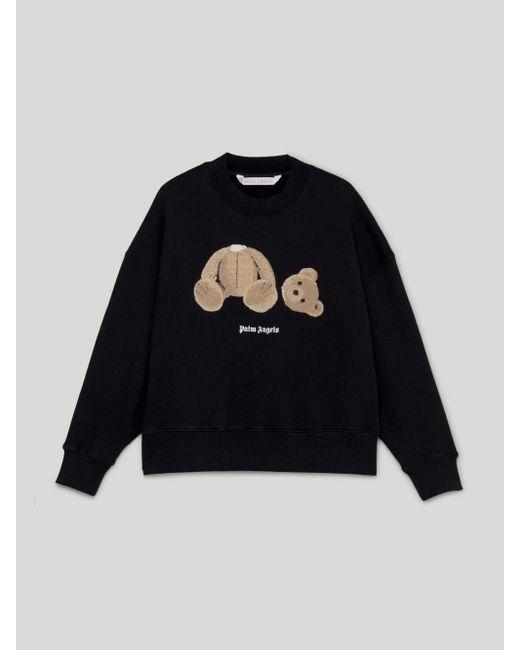 Palm Angels Bear スウェットシャツ Black