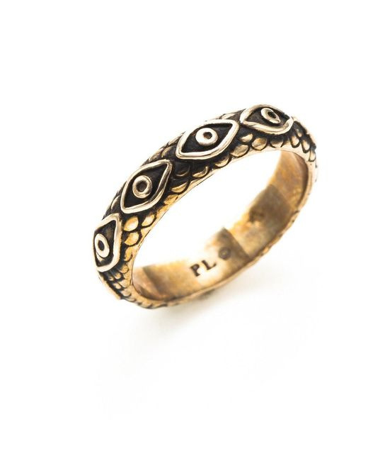 Pamela Love | Metallic Ajna Ring In Bronze | Lyst