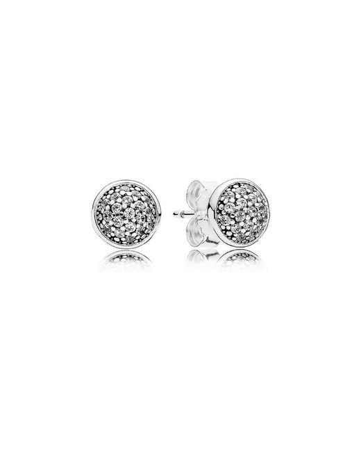 Pandora - Multicolor Dazzling Droplets Stud Earrings - Lyst