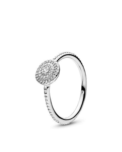 2d1e9c28a1a55 Women's Metallic Radiant Elegance Ring