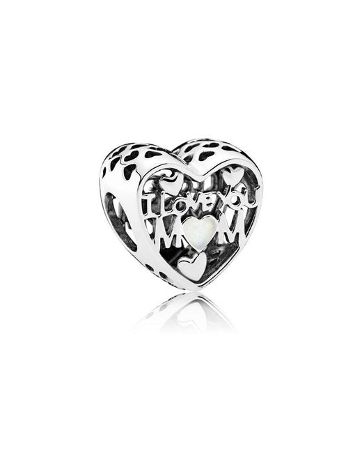 Pandora - Multicolor Love For Mother Charm - Lyst