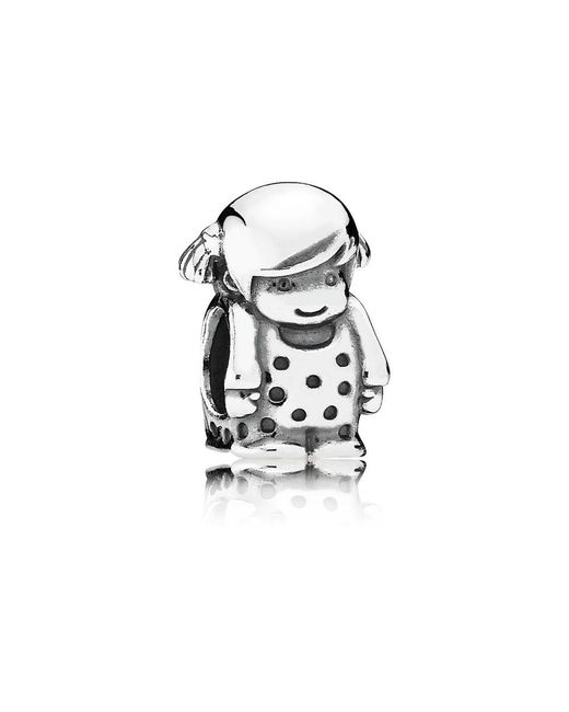 Pandora | Multicolor Precious Girl Charm | Lyst