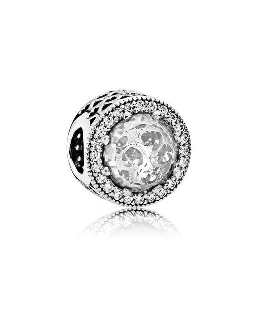 Pandora | Metallic Radiant Hearts Charm | Lyst