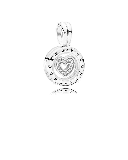 Pandora - Metallic Floating Locket Pendant Charm - Lyst