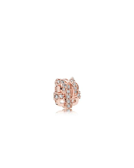Pandora - Multicolor All Wrapped Up Petite Locket Charm - Lyst