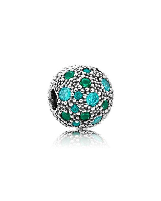 Pandora | Green Cosmic Stars Charm | Lyst