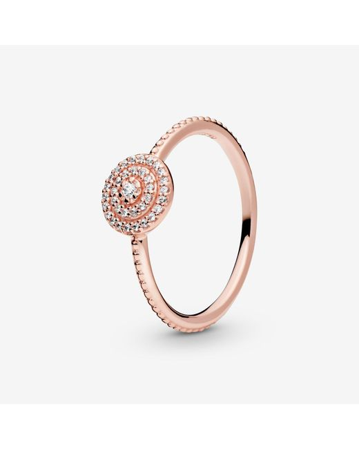 Pandora Metallic Elegant Sparkle Ring