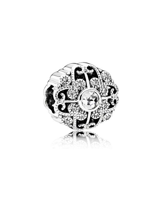 Pandora | Multicolor Fairytale Bloom Charm | Lyst
