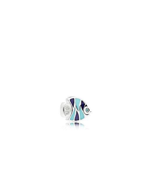 Pandora - Blue Tropical Fish Petite Locket Charm - Lyst