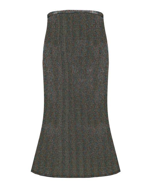 Ellery - Beedee Lurex Skirt Blue/multi - Lyst