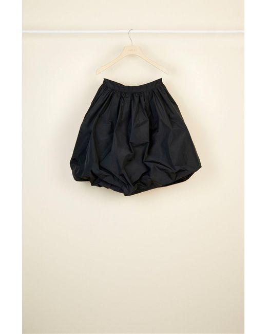Patou ファイユ バブル スカート Black