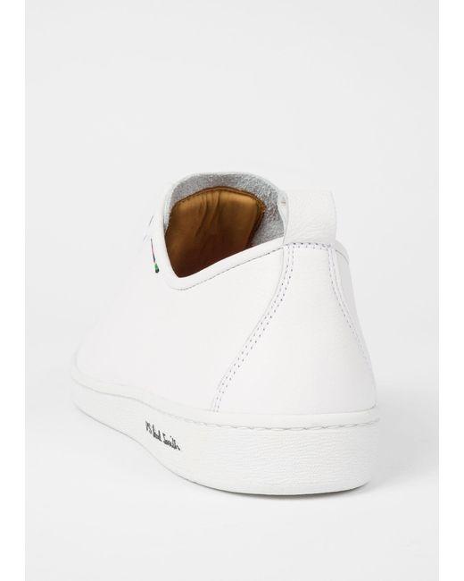 Paul Smith White Calf Leather 'miyata