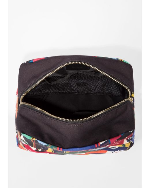 ... Lyst Paul Smith - Multicolor  cycling Jersey  Print Canvas Wash Bag for  Men ... 03445f2c0