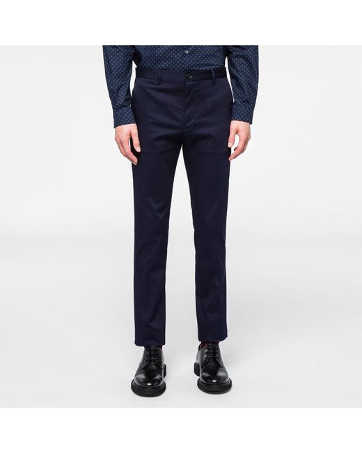 Paul Smith | Blue Houndstooth Trouser for Men | Lyst