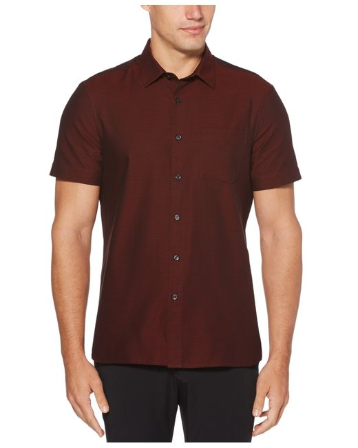 Perry Ellis Red Dobby Shirt for men