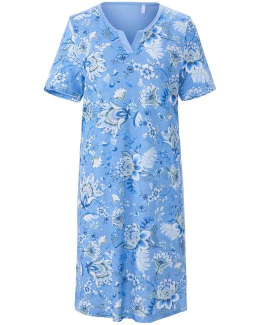 La chemise nuit 100% coton taille 46 RÖSCH en coloris Blue