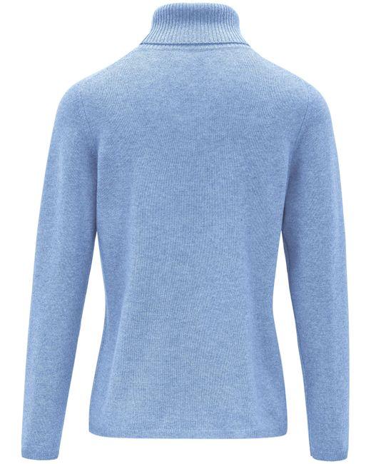 Le pull col roulé taille 48 include en coloris Blue