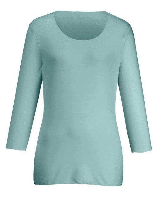 Peter Hahn Green Rundhals-shirt
