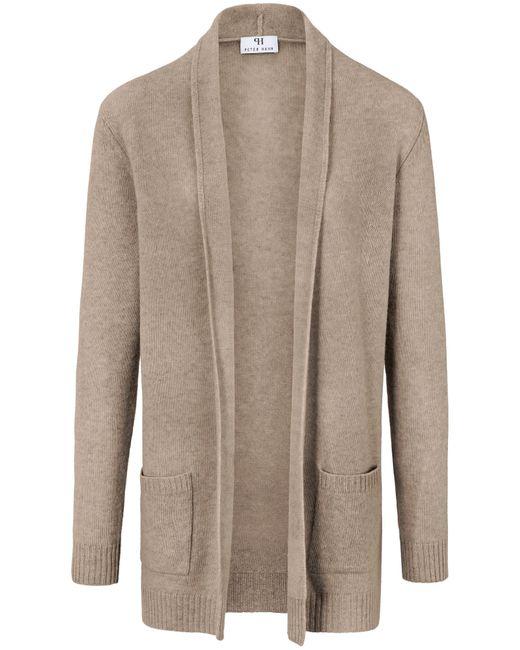 Peter Hahn Natural Cardigan aus 100% schurwolle-merino
