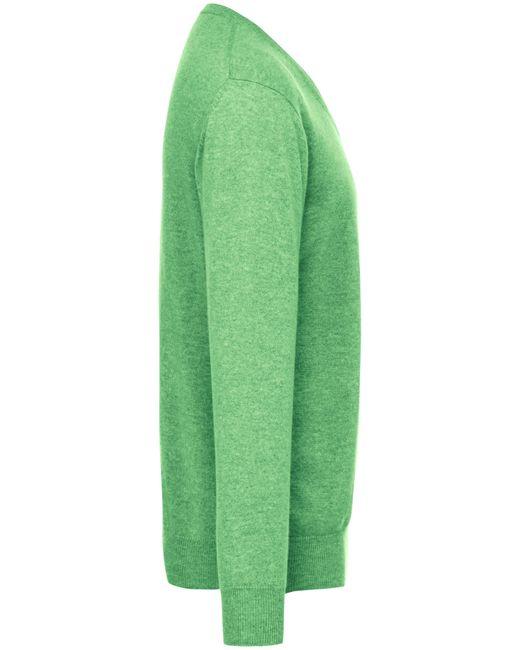 Le pull col v 100% cachemire taille 46 Peter Hahn Cashmere pour homme en coloris Green
