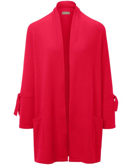 Le gilet 100% cachemire manches 7/8 taille 40 include en coloris Red