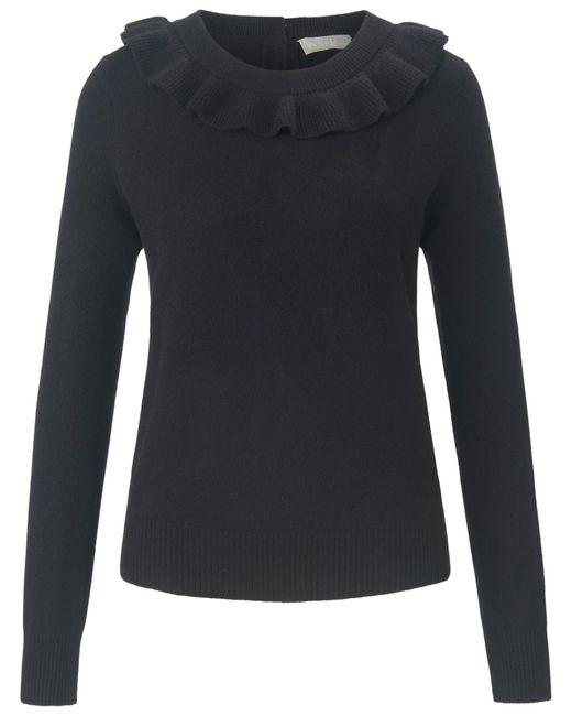 include Black Rundhals-pullover aus 100% premium-kaschmir