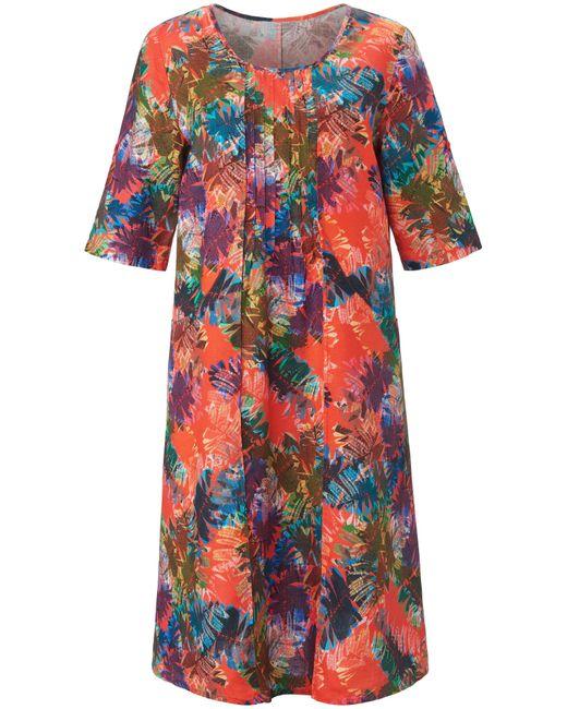 Anna Aura Multicolor Kleid aus 100% leinen
