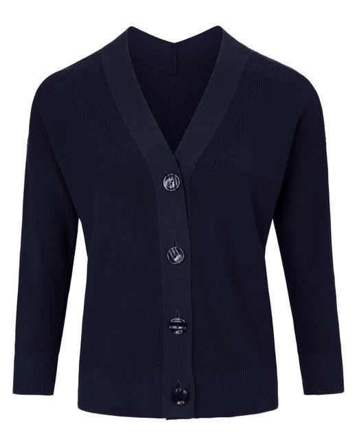 Peter Hahn Blue Strickjacke aus 100% supima®-baumwolle