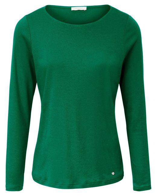 efixelle Green Shirt u-boot-ausschnitt