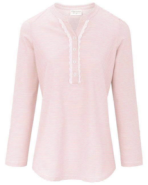 Le pyjama 100% coton taille 38 Ringella en coloris Pink